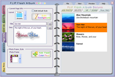 Flip Flash Album Deluxe 2.2