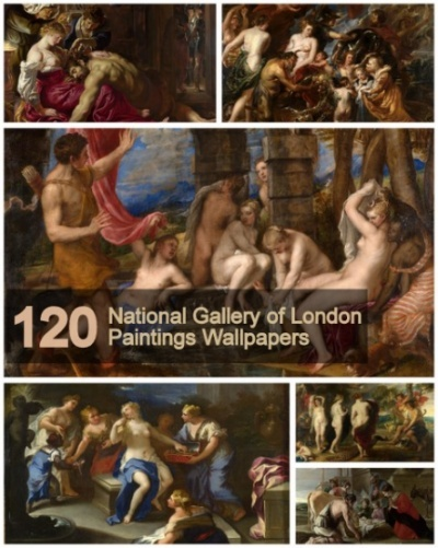 120 National Gallery of London Paintings Wallpapers