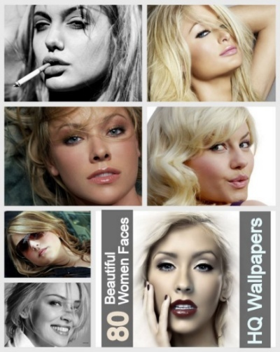80  Beautiful Women Faces HQ Wallpapers