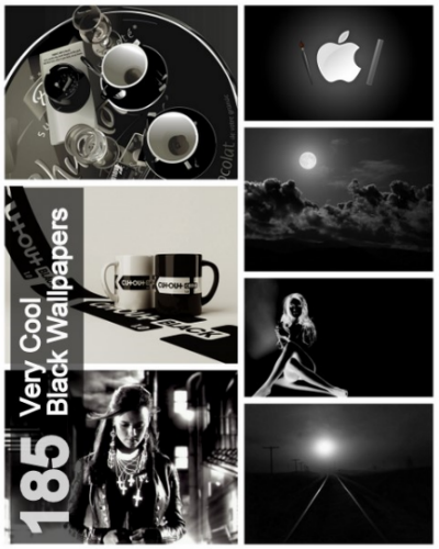 185  Very Cool Black Wallpapers