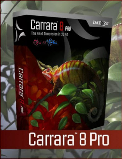 Carrara 8 Prof 8.0.0.231 x86 and x64