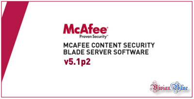 McAfee Content Security Blade Server Software 5.1 (3 cds)