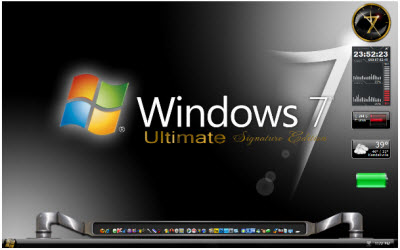 Desktop Enhancements > Windows 7 Theme  Signature Edition