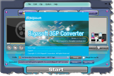 Bigasoft Total Video Converter 2.2.2.3866 Portable