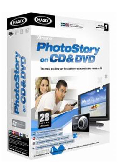 MAGIX Xtreme Photostory on CD & DVD Deluxe 9.0.3.2