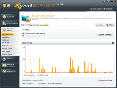 Avast! Internet Security 5.0.594