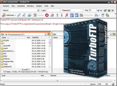 TurboFTP 6.30 Build 813