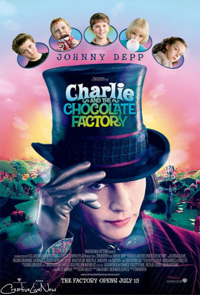 Charlie and the Chocolate Factory (2005) 720p m-HD x264-DMZ