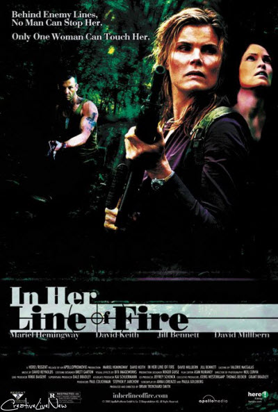 In Her Line Of Fire (2006) DVDRip XviD-DMZ