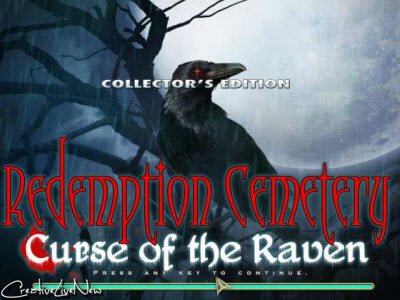 Redemption Cemetery: Curse of the Raven Collectors Edition v1.0 Cracked-F4CG