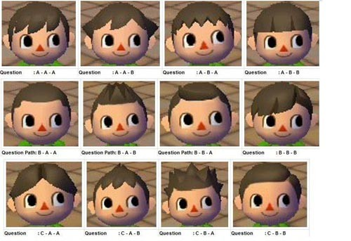 Coupe de cheveux animal crossing let 39 s go to the city wii debra doe blog - Coupe animal crossing wii ...