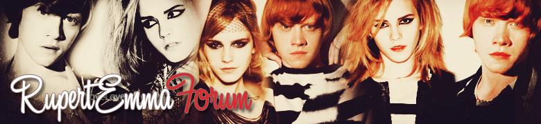 Rupert Grint ve Emma Watson