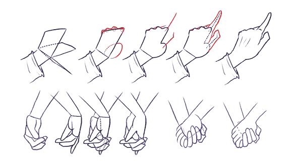Apprendre a dessiner des main slava - Dessiner un manga facilement ...
