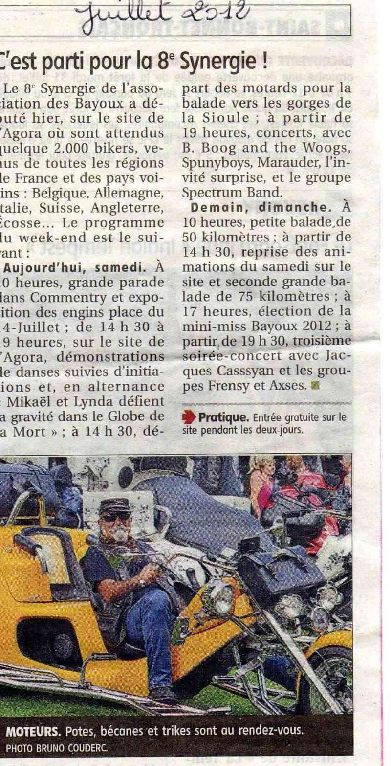 Les divers articles parus sur le journal la montagne de montlu on - Le journal la montagne ...