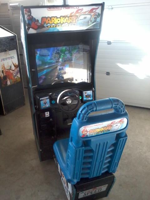 borne arcade occasion belgique