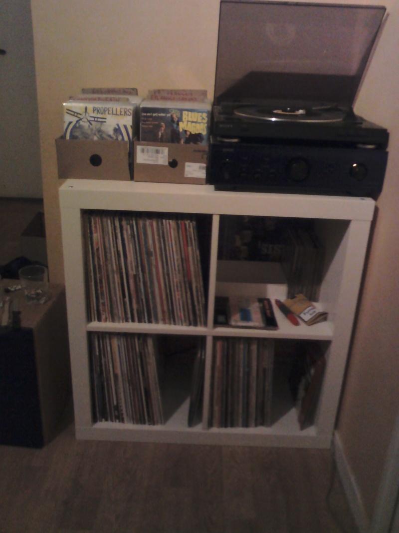 Les photo de votre installation hi fi les platines le forum vinyls coll - Meuble pour platine vinyle ...