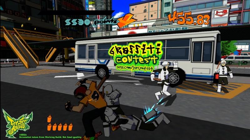 حصريا اللعبة الرائعة والمسلية جدا Jet Set Radio 2012.Repack Excellence نسخة ريب