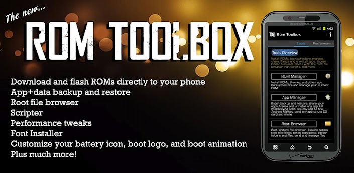 ROM Toolbox Pro v5.2.3 + Lucky Patcher v2.1.9
