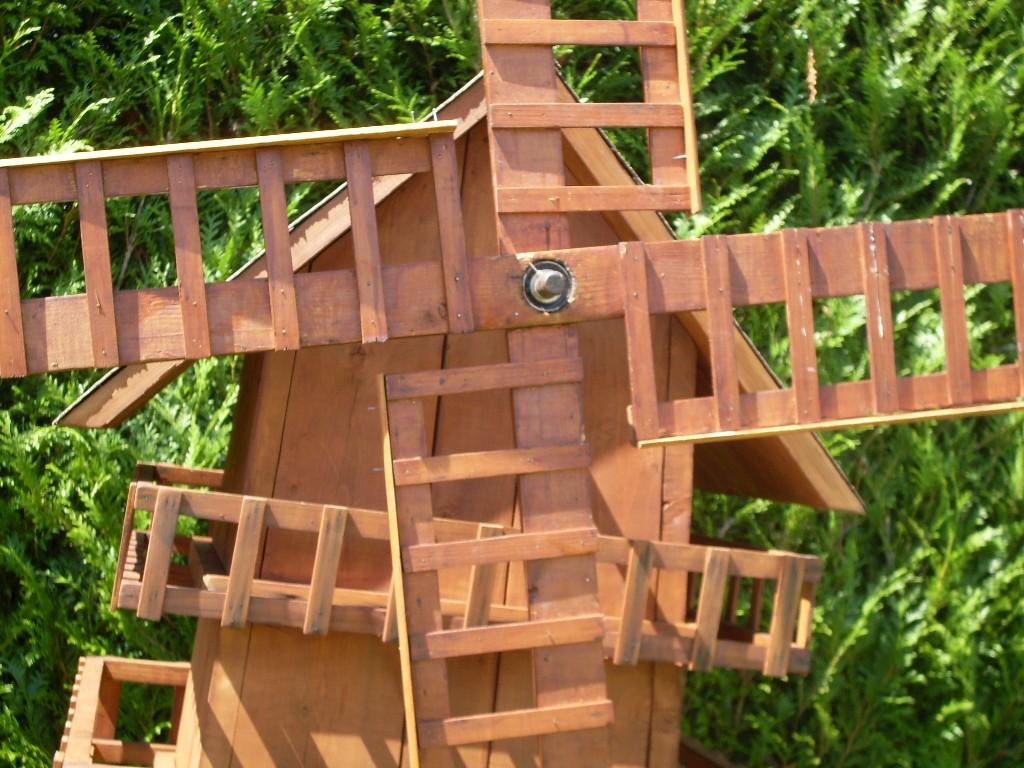Moulin a vent for Cendres de bois pour le jardin
