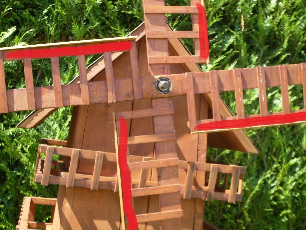 Moulin a vent - Moulin a vent en bois a fabriquer ...