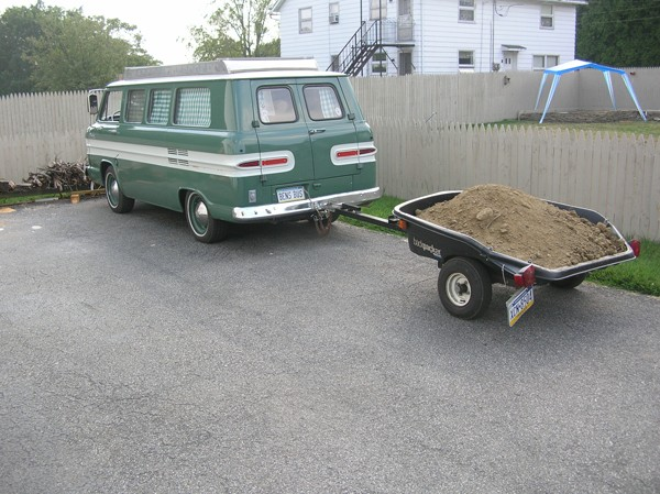 You tow what with your vintage van?!?