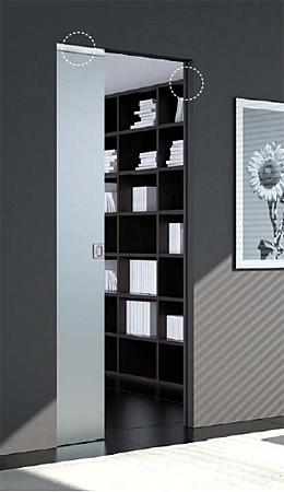 ВИТРО – адаптер за стъклени плъзгащи се врати от серия SYNTESIS® LINE