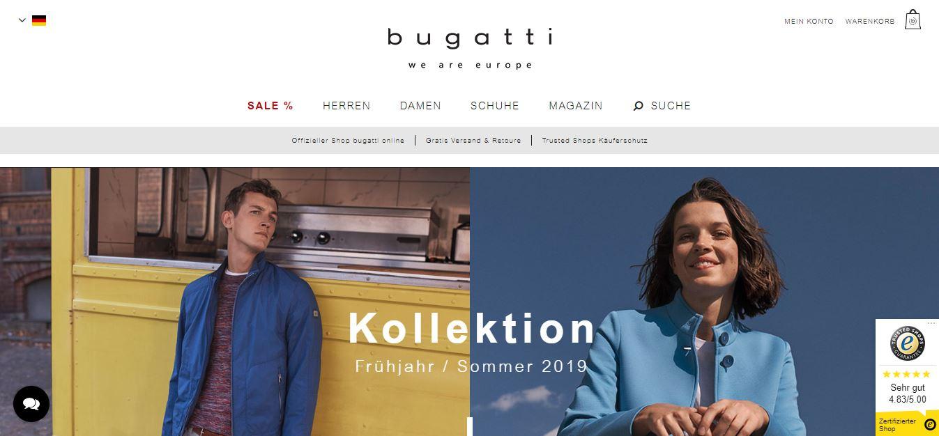 Bugatti Onlineshop